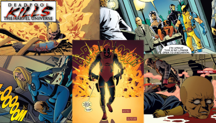 Deadpool Kills The Marvel Universe 1