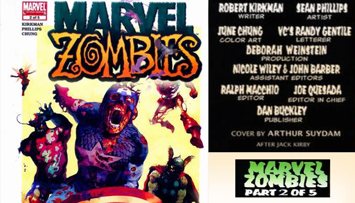 Marvel Zombies 2 of 5 Comic Book News จักรวาลมาร์เวล ซอมบี้