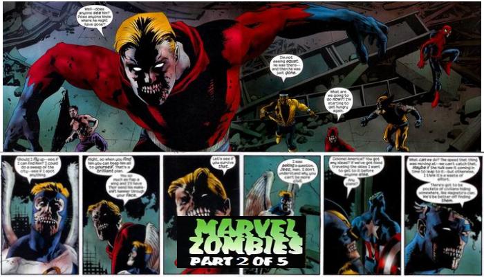 Marvel Zombies 2 of 5 จักรวาลมาร์เวล ซอมบี้