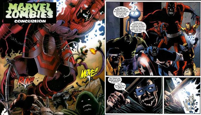 Marvel Zombies 5 of 5 จักรวาลมาร์เวล ซอมบี้
