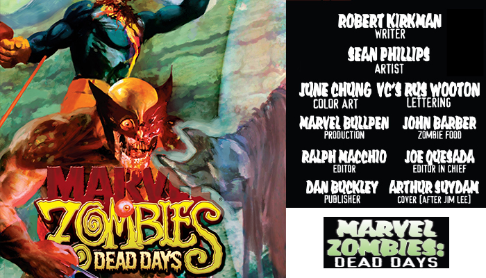 Marvel Zombies DeadDays 1 Comicbooknews