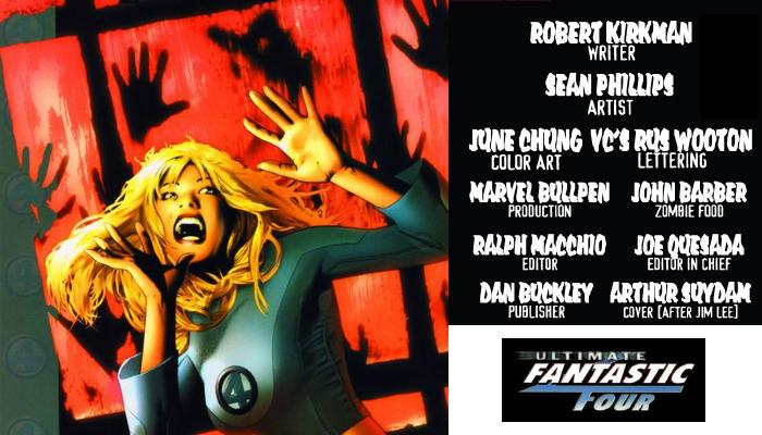 Marvels Zomebies F4 Ultimate 23 จักรวาลมาร์เวลซอมบี้ Comic Book News