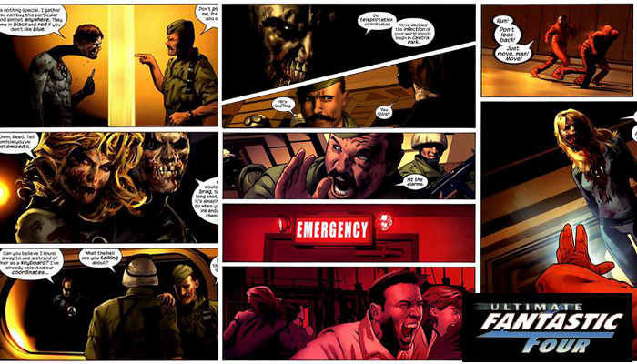 Marvels Zomebies F4 Ultimate 31 จักรวาลซอมบี้