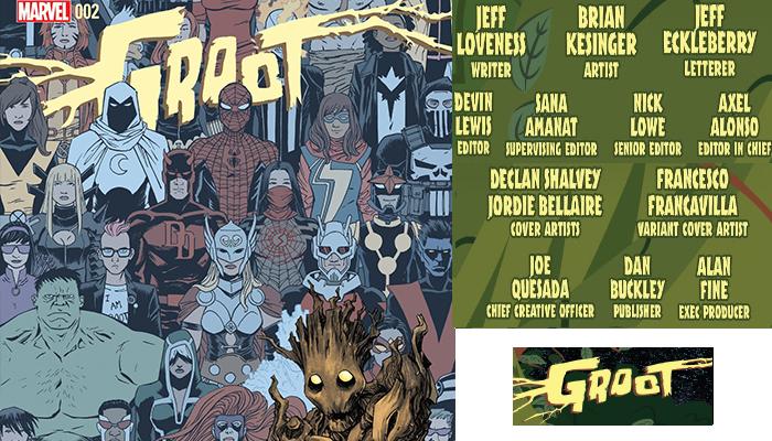 Groot# 2 จักรวาลมาร์เวล Comic Book News