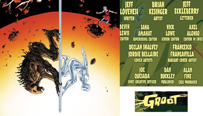 Groot#3 จักรวาลมาร์เวล Comic Book News