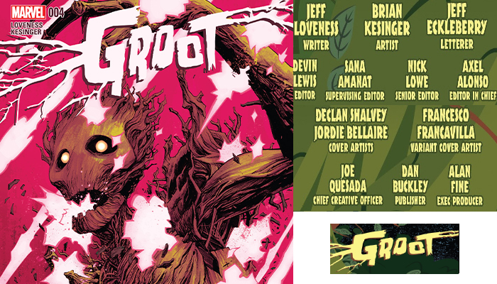 Groot#4 จักรวาลมาร์เวล Comic Book News