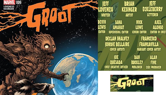 Groot#6 จักรวาลมาร์เวล Comic Book News การ์ตูน