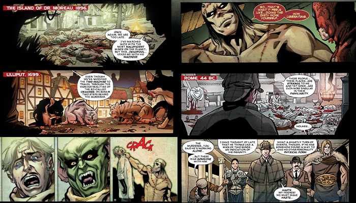 Deadpool Kills Started 3 เดดพลู ปฐมบทฆ่าล้างจักวาล