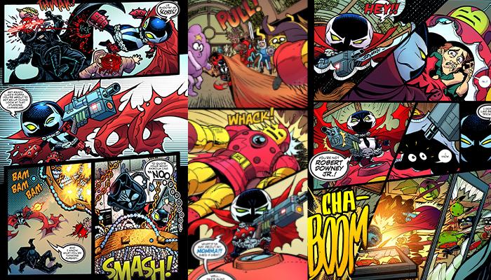 Spawn Kills Everyone สปอว์น ฮีโร่พันธุ์นรก